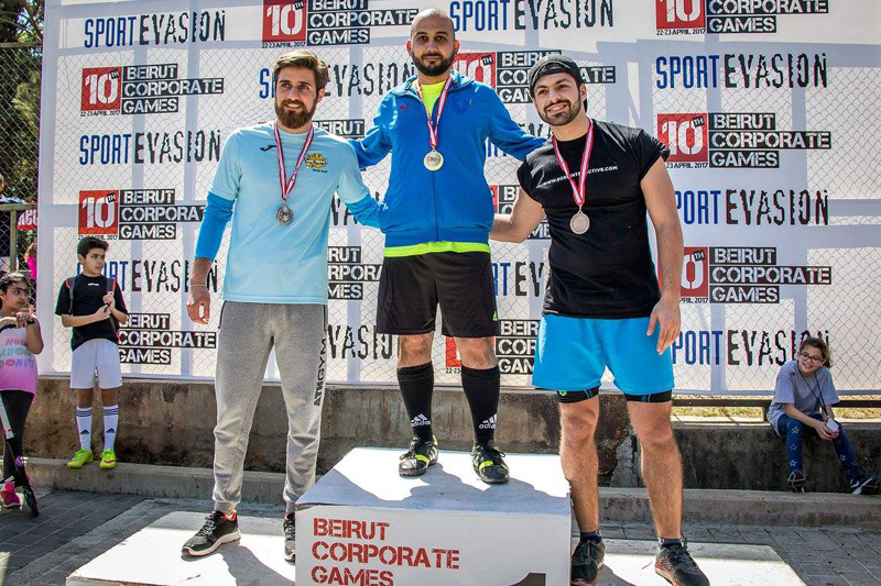 Born Interactive participates in Beirut Corporate Games 2017